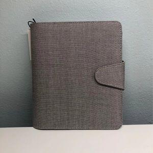 Kikki.K B6 Grey Linen Undated Planner